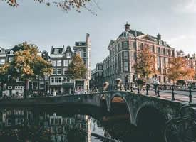 一組小清新感的荷蘭的城市風景圖片欣賞