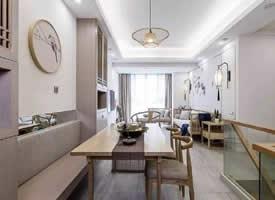 轻妆淡抹,清爽自然 新中式家居设计  