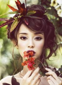 盖玥希唯美仙气写真图片