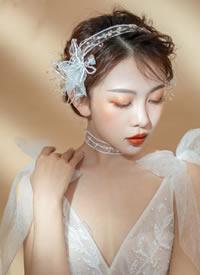 春天的姑娘脸上有一千道光芒 韩式仙美新娘造型
