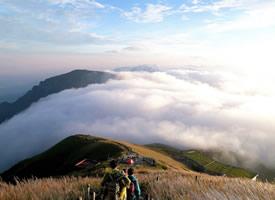 一组武功山云海风景图片欣赏
