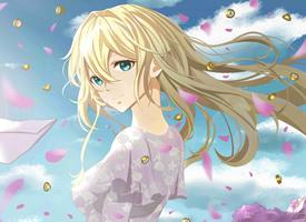 《紫罗兰永恒花园》里漂亮萝莉高清图片欣赏
