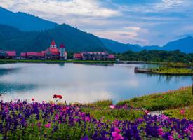 四川西岭雪山美丽的自然风景图片