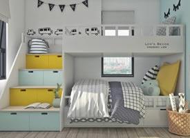幾款色彩漂亮的兒童房裝修設計作品
