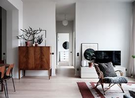 北歐風現代公寓裝修效果圖欣賞