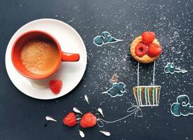 一组特别可爱感的咖啡图片欣赏