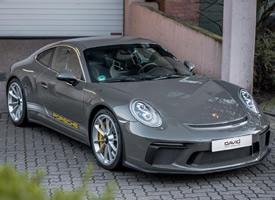 水泥灰 保时捷 911 GT3图片欣赏