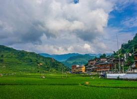 贵州千户苗寨美丽的哒乡村图片欣赏