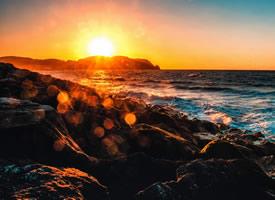 一组唯美的夕阳风景图片欣赏