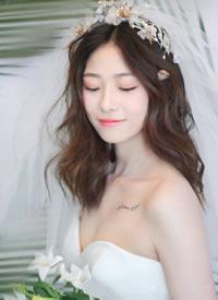 优雅迷人,温润如玉的新娘发型欣赏