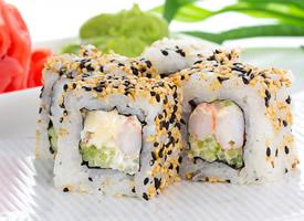 一组特别精美高颜值的寿司图片欣赏
