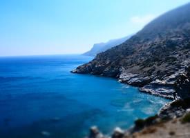 一组唯美海岸蓝色风景高清图片欣赏