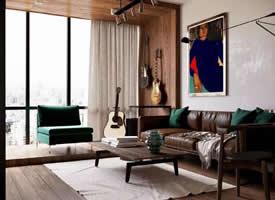 小夫妻的50平公寓裝修效果圖欣賞