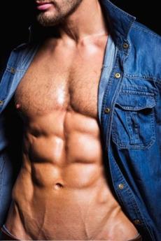 成熟欧美男模性感肌肉帅哥诱人室内写真图片