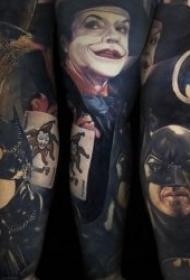 纹身电影图   精致而又写实的电影人物纹身图案