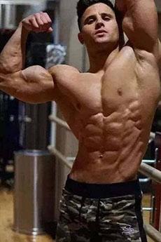 性感迷人的體育肌肉帥哥誘惑男體藝術寫真圖片