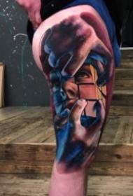 18组欧美立体3d写实风格的手臂纹身