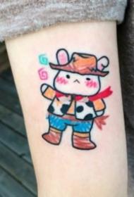 少女心泛滥的超级小可爱纹身图