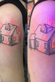 9张荧光纹身的效果图片欣赏