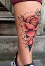 18组好看的欧美彩色纹身作品