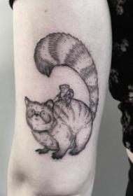 创意纹身小图  生机勃勃的动植物小纹身图案