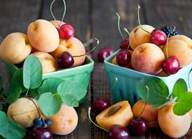 一组各式各样的水果拼盘图片欣赏