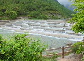 麗江玉龍雪山藍月谷風景圖片欣賞