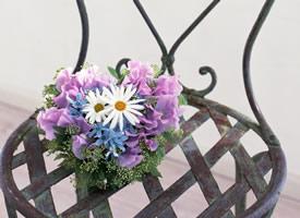 一束简单美丽小清新的花束图片欣赏