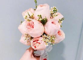 一组唯美的粉色系花束图片欣赏