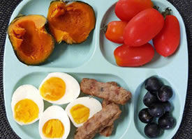 四格盘子的健康减肥餐图片欣赏