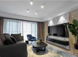 160平简约现代风四居室,会呼吸的自然舒适空间