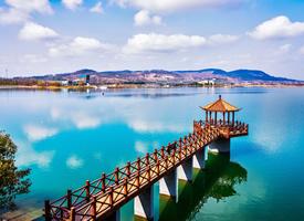 南京六合金牛湖风景高清图片欣赏