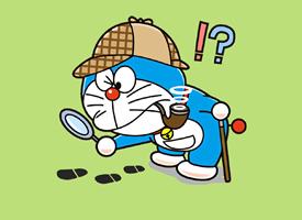 哆啦A夢可愛搞怪卡通手機壁紙