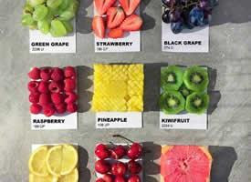 一组治愈系的水果拼盘图片欣赏