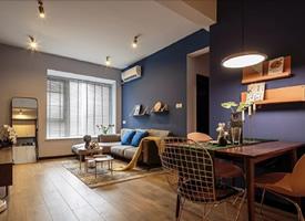 80㎡混搭风质感两居室,精致小清新范