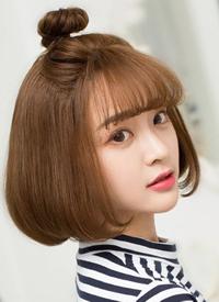 一组美美的韩式小仙女发型图片欣赏