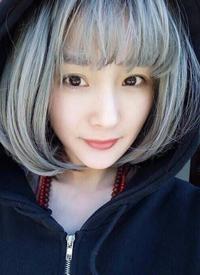 一组可爱的女生齐刘海发型图片欣赏