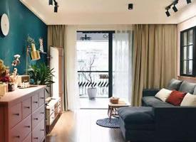 ??混搭风79㎡两居室装修效果图欣赏