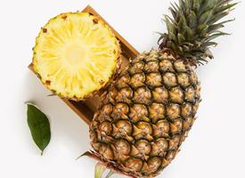 一組酸酸甜甜的菠蘿特寫圖片欣賞