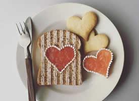 一组超级可爱的早餐图片欣赏