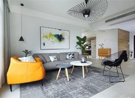 150m²北欧风 木色为点缀,打造一个简约高级的居住空间 