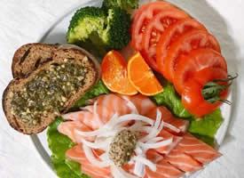 一组营养又很健康的早餐图片欣赏