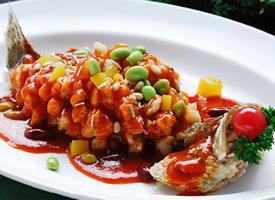 江苏菜肴松鼠鳜鱼美食图片欣赏