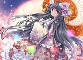 一组可爱的日本和服萝莉图片欣赏