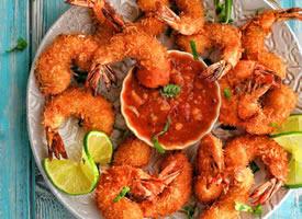 这样的油炸虾仁看到就超级有胃口