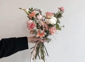 一组美美哒小清新花束图片欣赏