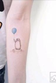 简单 纹身   简约而又清新自然的简单纹身图案