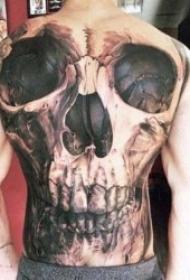 滿背紋身圖案 多款不同圖案不同風格的滿背紋身圖案