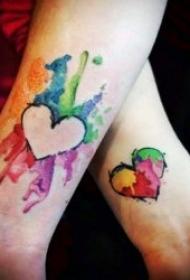 情侶紋身小圖案 可愛且簡單的10款情侶紋身小圖案