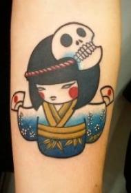 动画纹身图片 可爱卡通纹身动物及人物的动画纹身图片